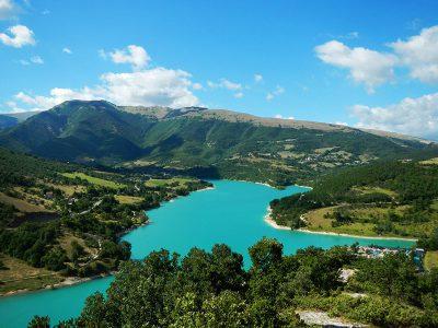 Lago di Fiastra - Dove dormire a Sarnano - Residence Il Glicine