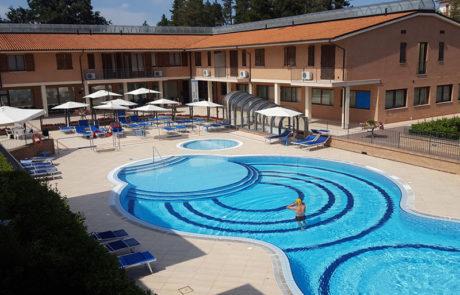 Sarnano - Le Terme di San Giacomo - Pacchetti Residence Il Glicine