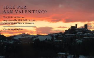 Weekend San Valentino - Spa, terme, cena a Sarnano